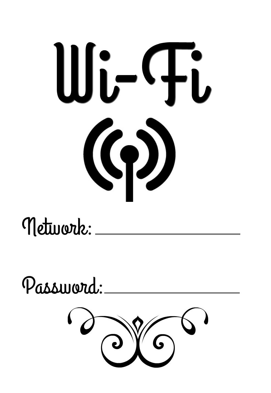 Skriv ut din Wi-Fi bild!