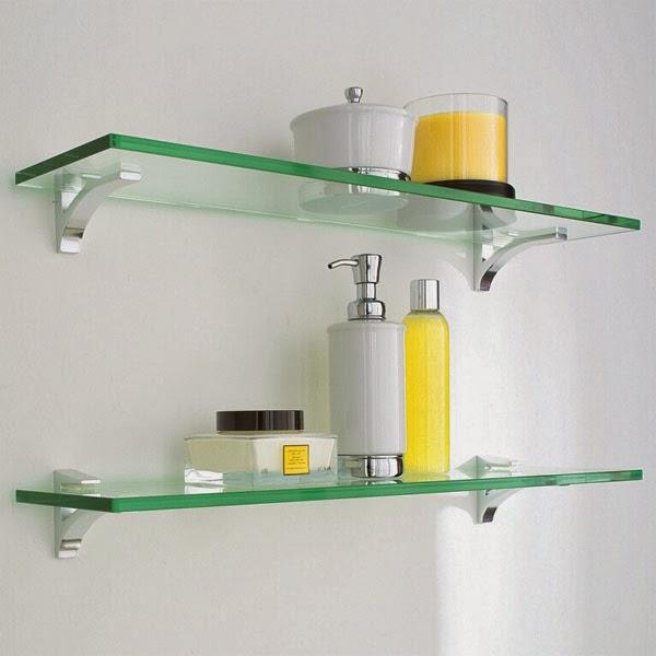 Estantes De Vidrio Para Baño:Estantes de Vidrio