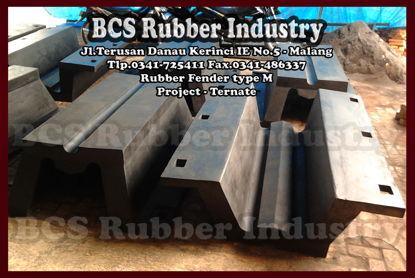 Rubber Fender,Rubber Fender Type M,Rubber Fender,BCS Rubber Fender