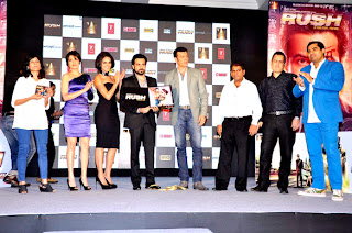 Neha Dhupia & Emraan Hashmi at 'Rush' movie audio launch and press conf................