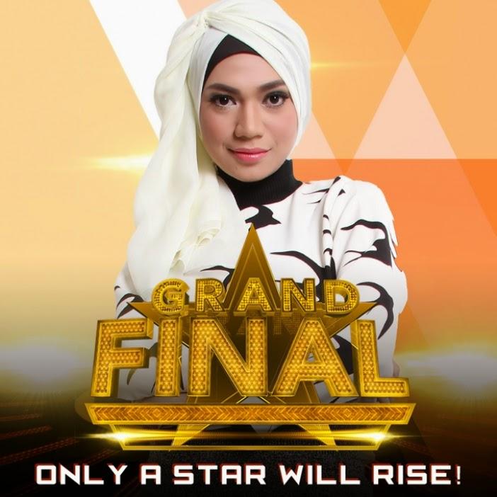 Indah Nevertari 4 Besar Rising Star Grand Final