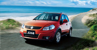 tampilan exterior sx 4 crossover x over