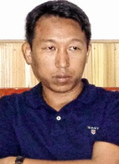 GTA Sabha member Sanjay Thulung