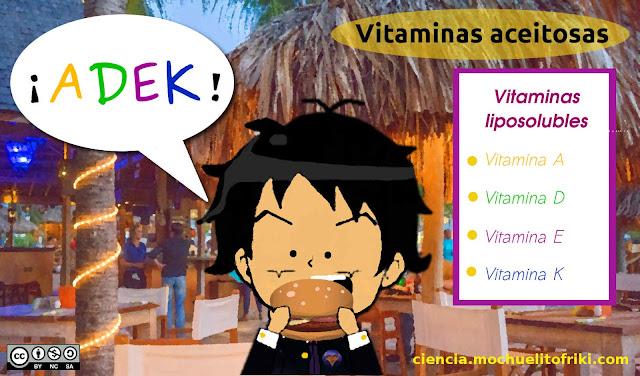 vitaminas liposolubles mnemotecnicos