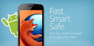 متصفح فاير فوكس للجالكسي اس 3 والجالكسي 2 والاندرويد Firefox For Android