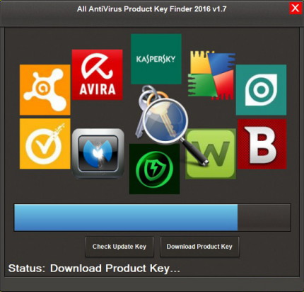 All AntiVirus Product Key Finder 2016 1.7
