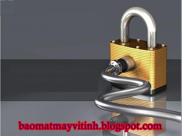 Bảo mật máy vi tính cá nhân