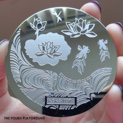 Lady Queen - Stamping Plate Hehe 037 Review