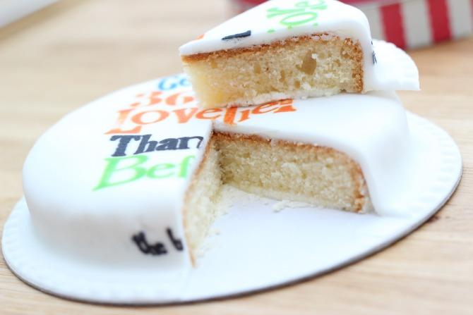 baker days sponge cake