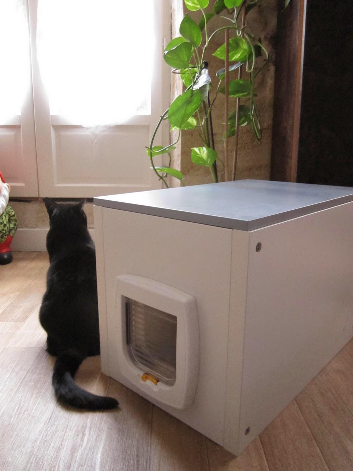 Le grain de malice mai 2014 - Meuble litiere pour chat ...