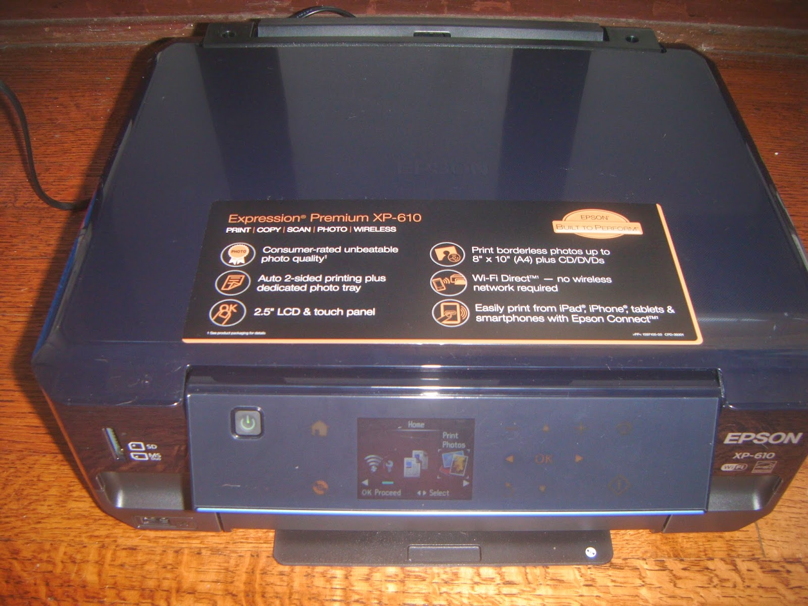 how to set up epson connect with my printer