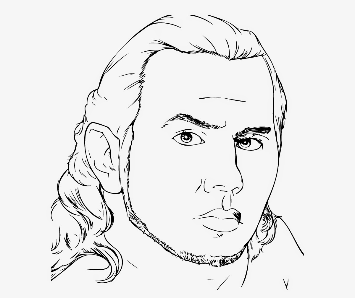 jeff hardy coloring pages free - photo#10