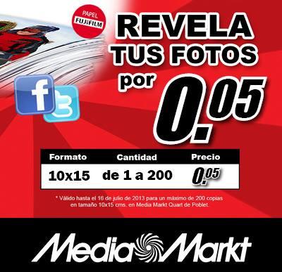 El blog de media markt quart de poblet el revelado de for Revelar fotos baratas