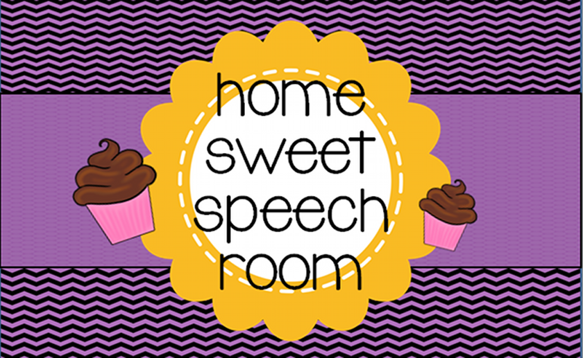 Home Sweet Speech Room
