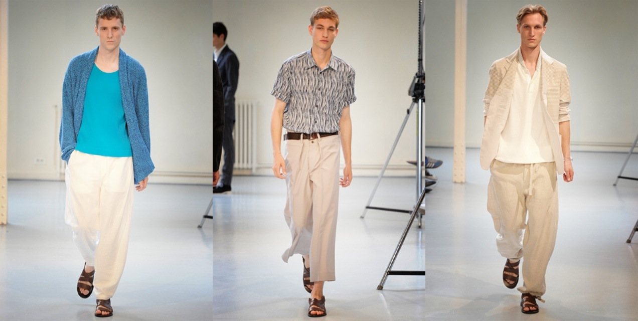 Issey Miyake Spring 2012 menswear collection