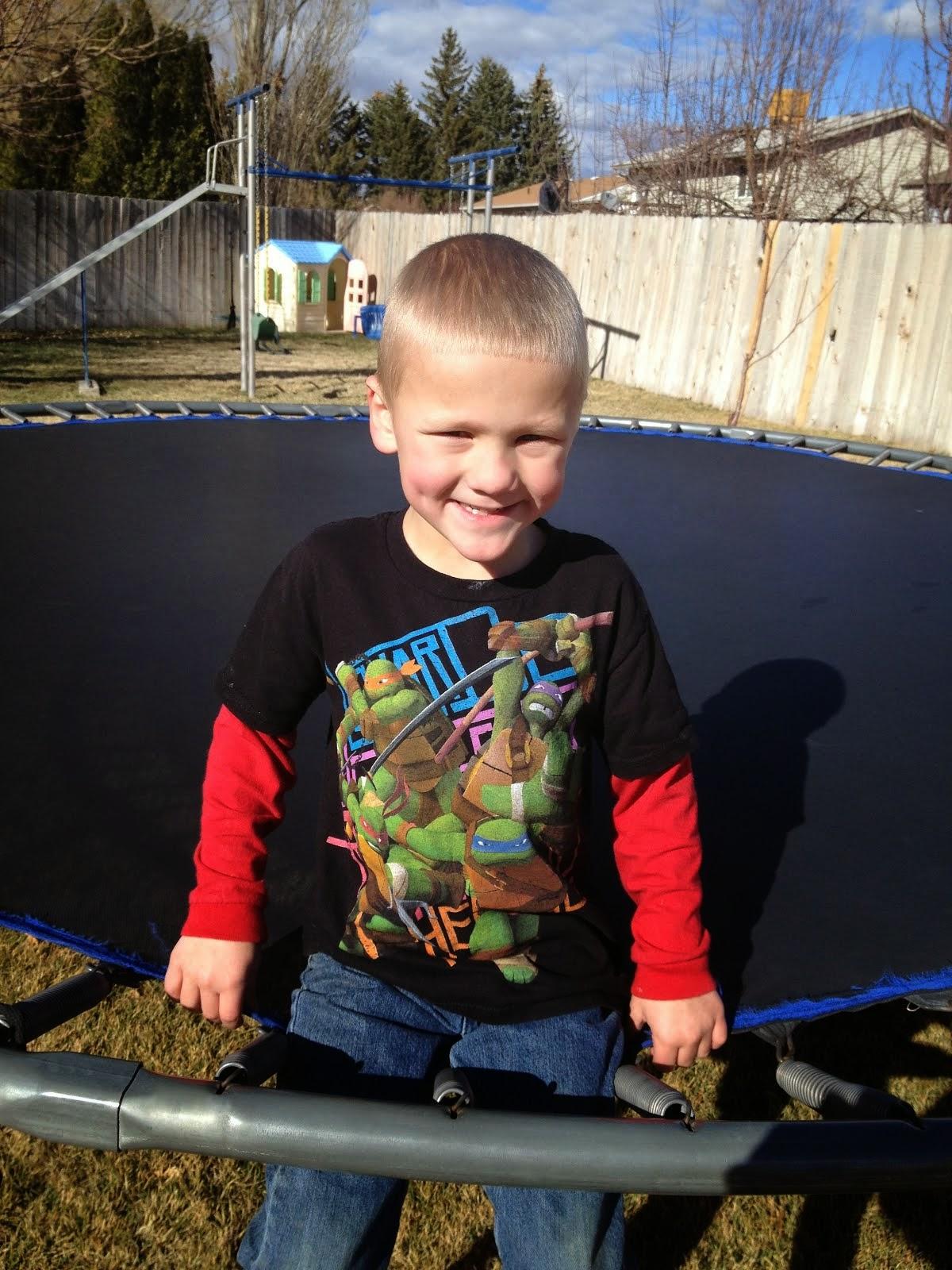 Carter John- 7 years old!!