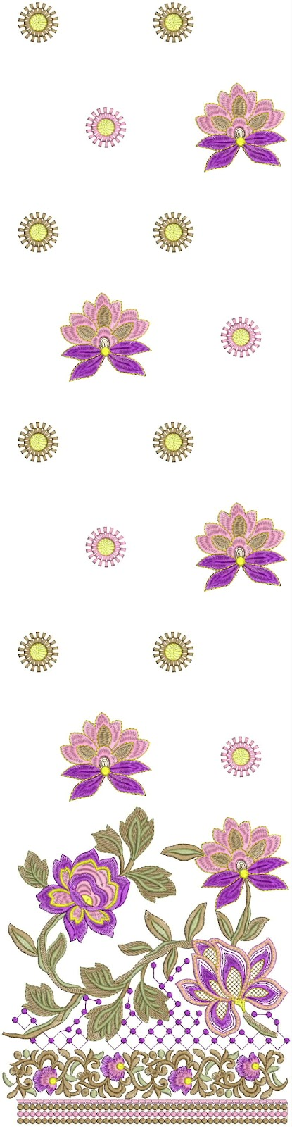 Embdesigntube daman tunic embroidery designs collection