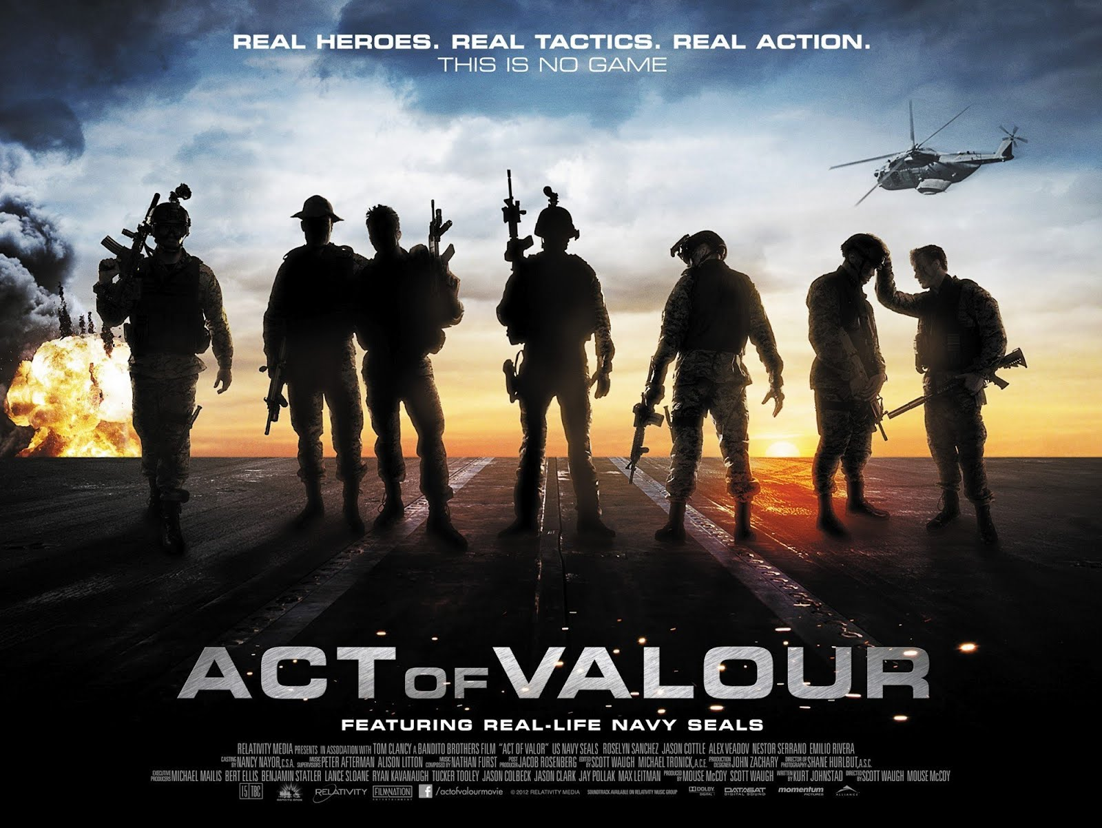 Image result for Act Of Valor 2012