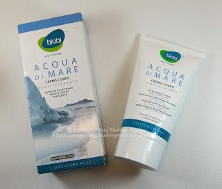 BJOBJ - Acqua di Mare - Crema corpo elasticizzante - packaging
