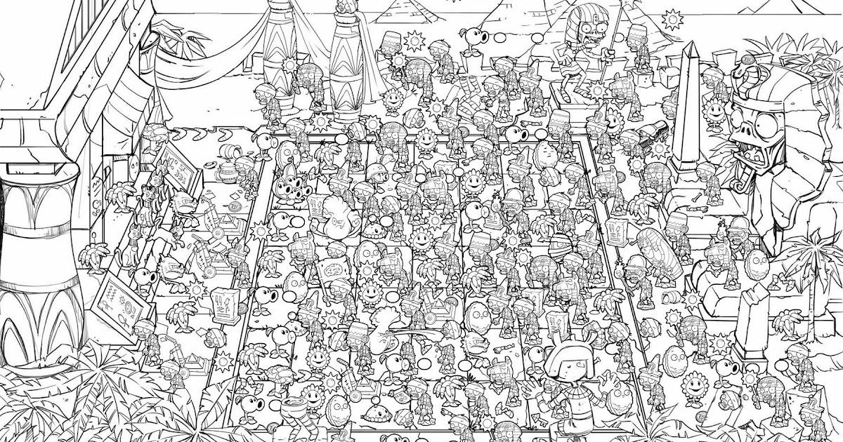 Jorge Santillan Dibujante Plants Vs Zombies Search Anf