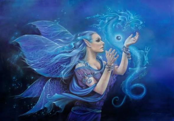 espiritus elementales del agua ondinas