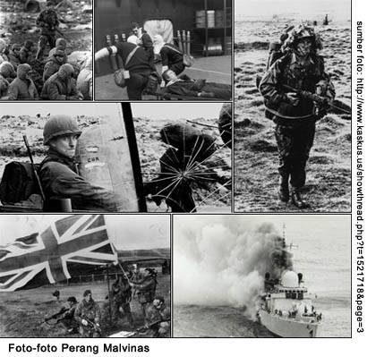 Malvinas Rivalitas Argentina Inggris