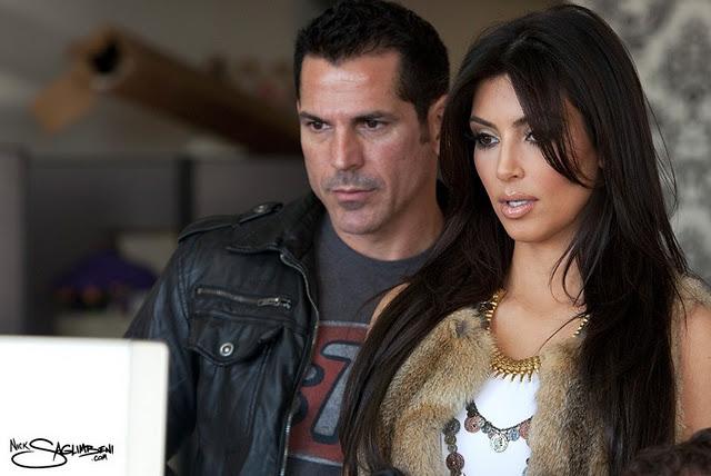 Kim Kardashian – Photoshoot by Nick Saglimbeni