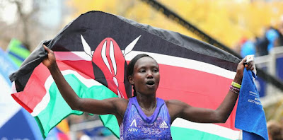 Mary Keitany vince la New York City Marathon
