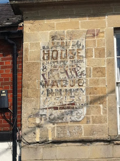 Ghost sign in West Lavington, Wiltshire