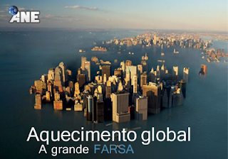 A farsa do AQUECIMENTO GLOBAL