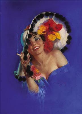 Zoë Mozert 1907-1993 estadounidense Pin-up ilustrador