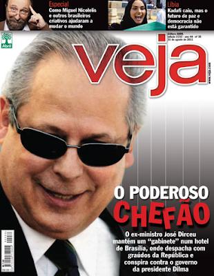 Capa da Veja