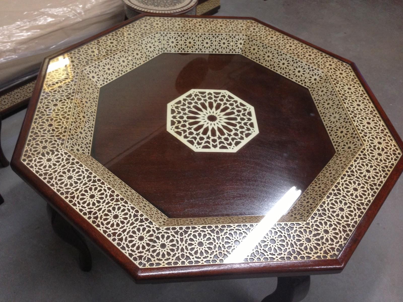 Sdader Marocain : Salon marocain meuble