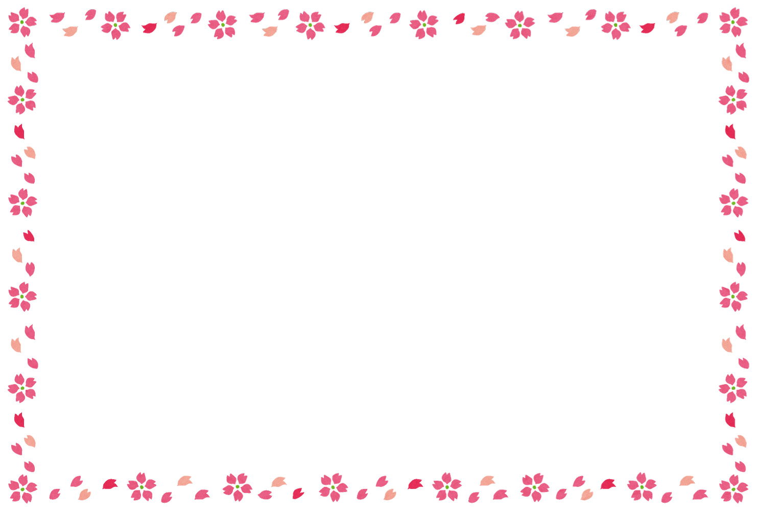 Sakura Frame : 便箋 枠 : すべての講義