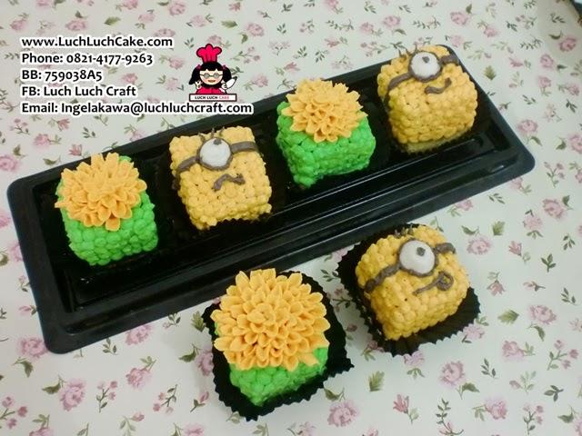 Mini Cake Minion Daerah Surabaya - Sidoarjo
