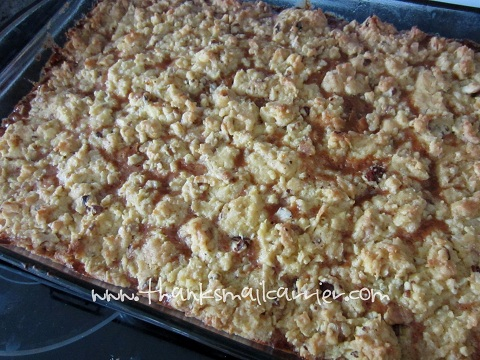 Musselman's caramel apple bars recipe