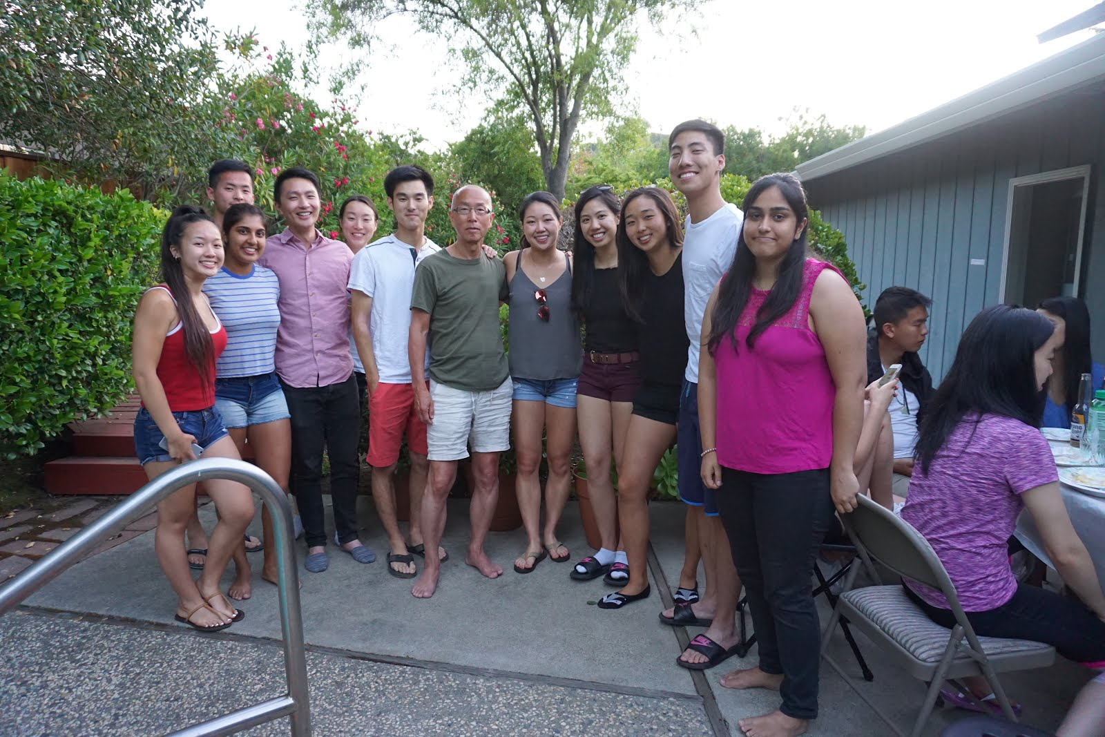 2018 Summer party at Erica's