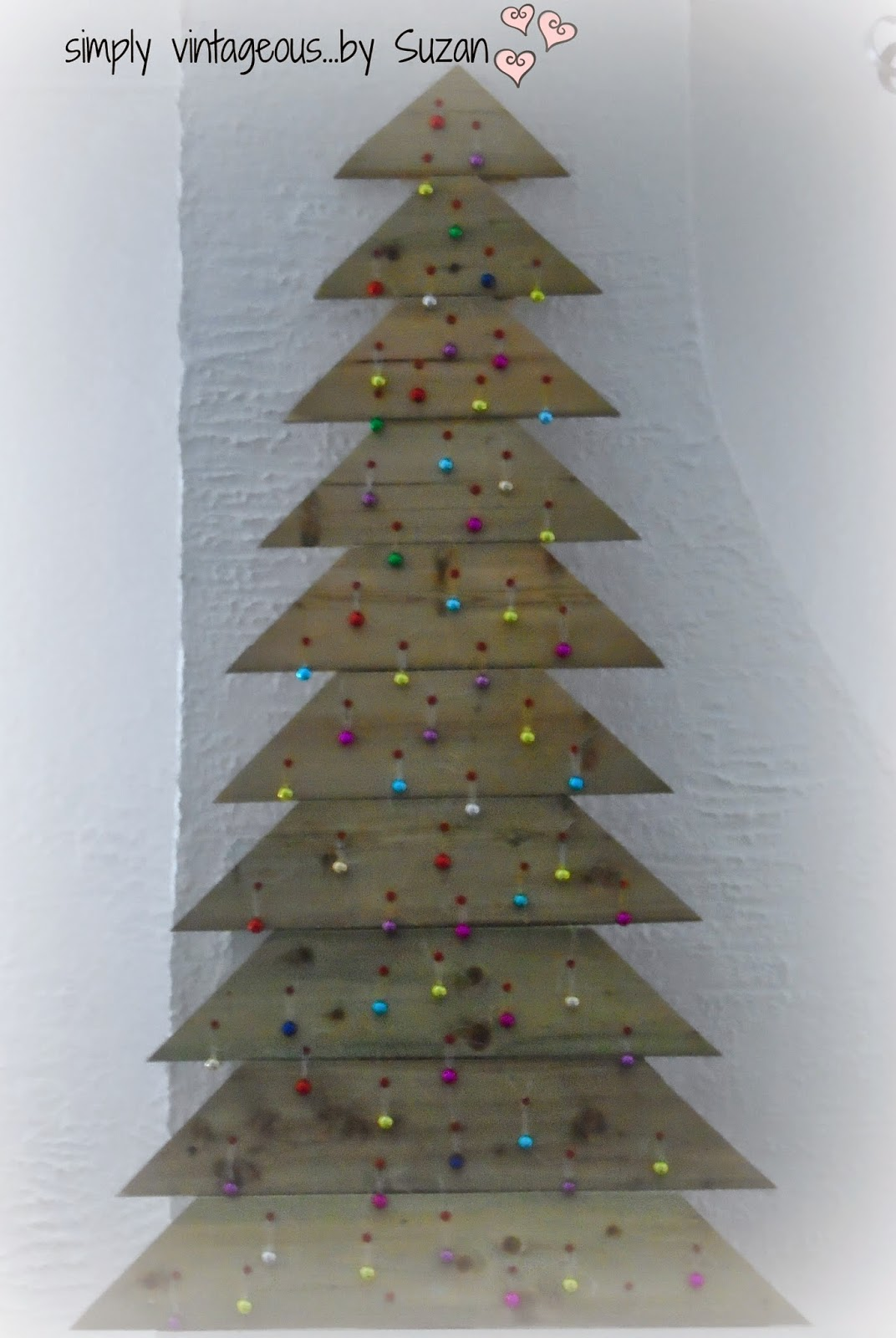 Wood Christmas Tree