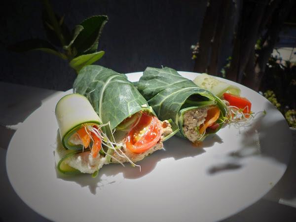 raw vegan wraps.