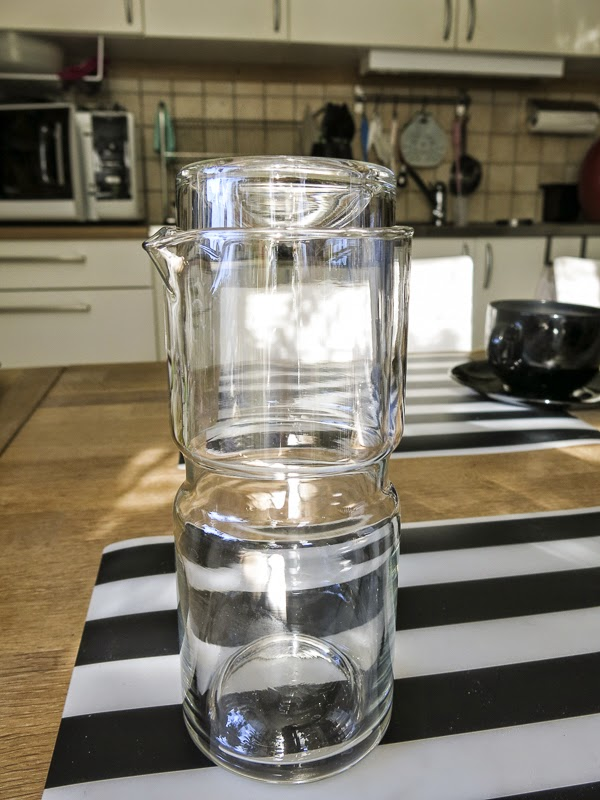 karaff, glas