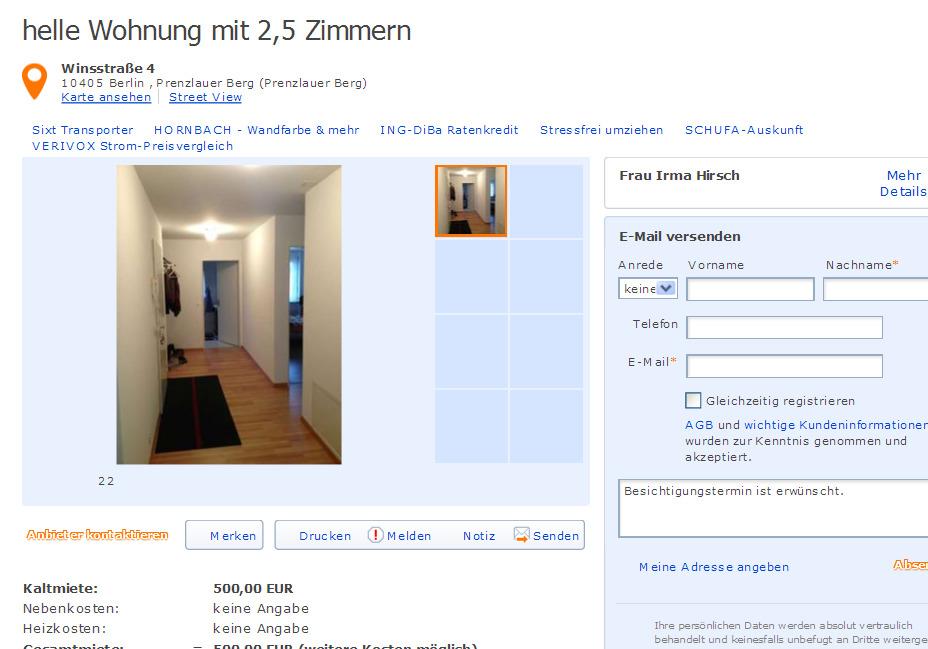 wohnung scout ch. Black Bedroom Furniture Sets. Home Design Ideas