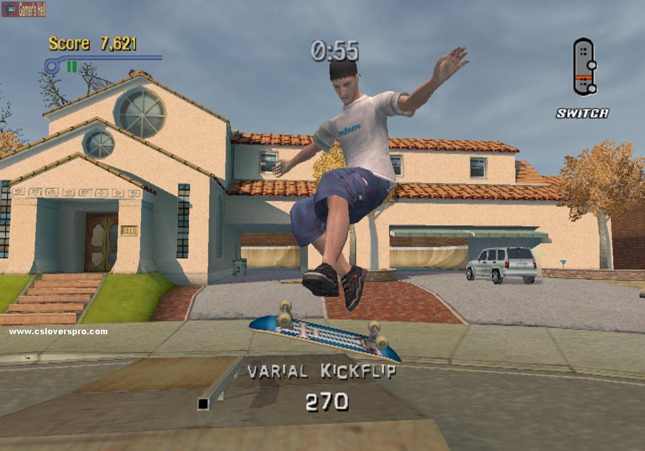 Tony Hawk Pro Skater 3 Pc Cs Game Free Download Full