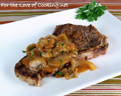 Steak with Stroganoff Sauce