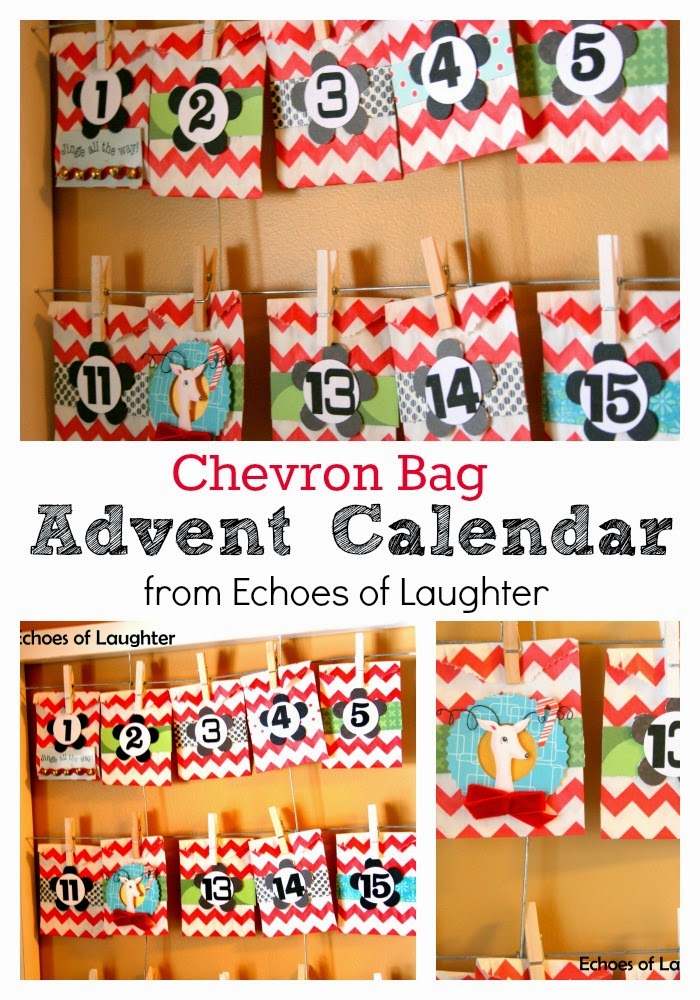 Chevron Bag Advent Calendar