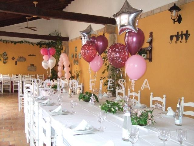 Decoraci n con globos de todo fiesta decoracion para 15 a os - Todo casa decoracion ...