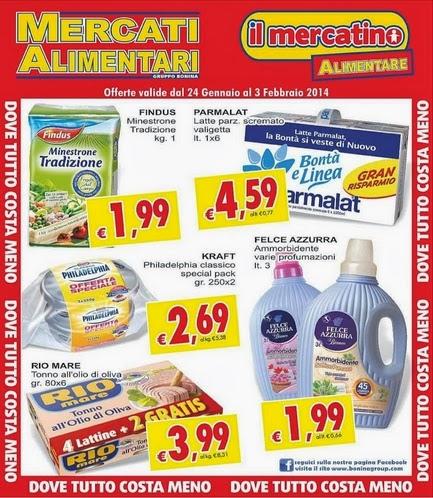 volantino - Mercati Alimentari Offerte dal 24 Gennaio al 3 ...