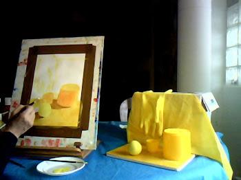 Vídeo tutorial. Componer en gama de amarillos.