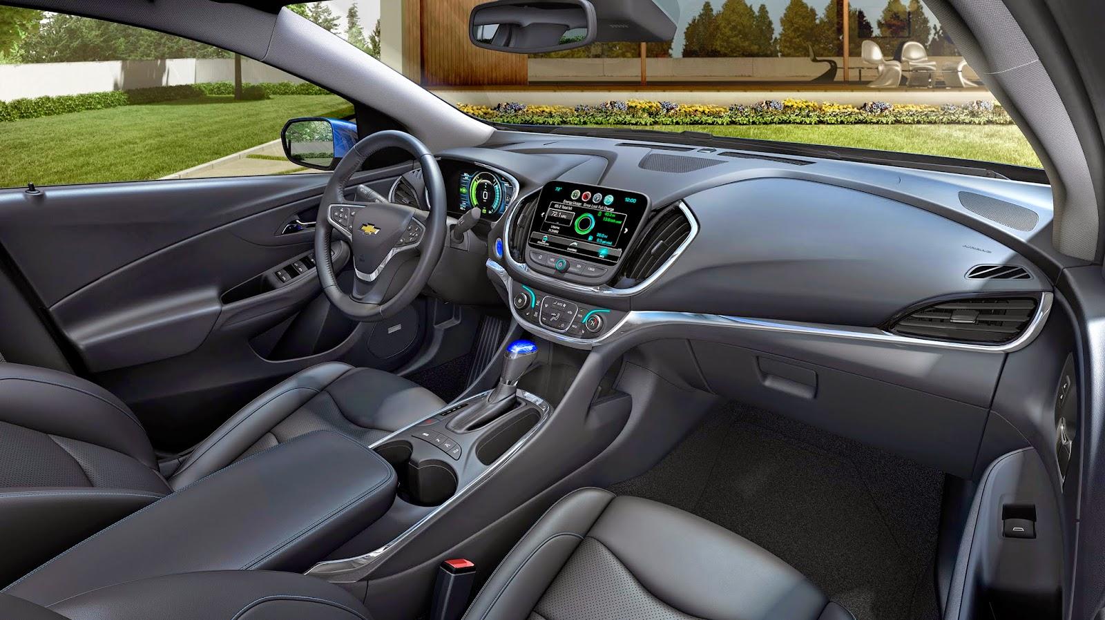 nuevo Chevrolet Volt interior