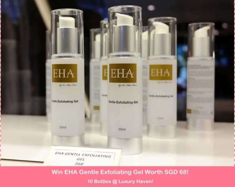 Win EHA Gentle Exfoliating Gel Worth SGD 68 x 10 Bottles!