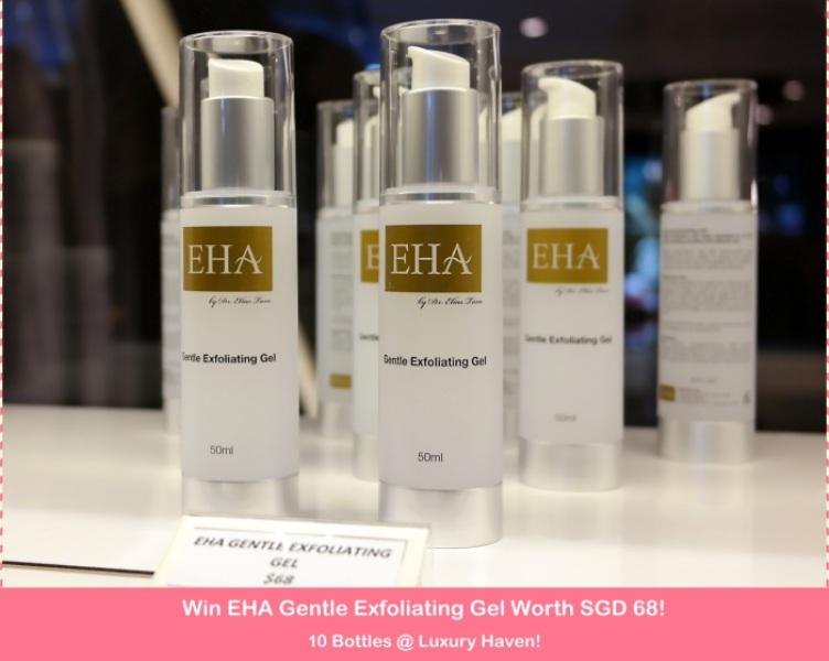 Win EHA Gentle Exfoliating Gel Worth SGD 68 x 10 Bottles!